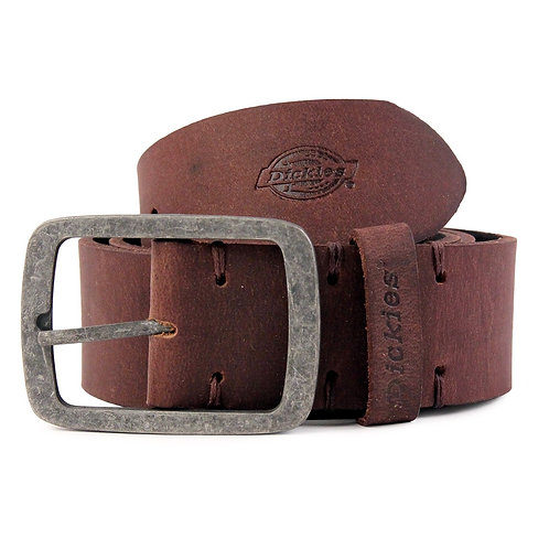 Dickies Ceinture cuir Eagle Lake Brown