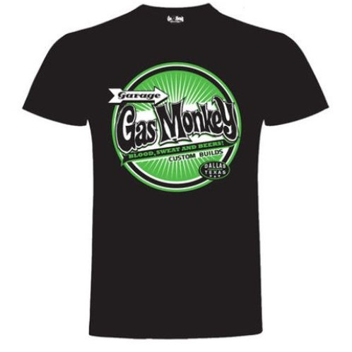 Gas Monkey t-shirt Green Circle