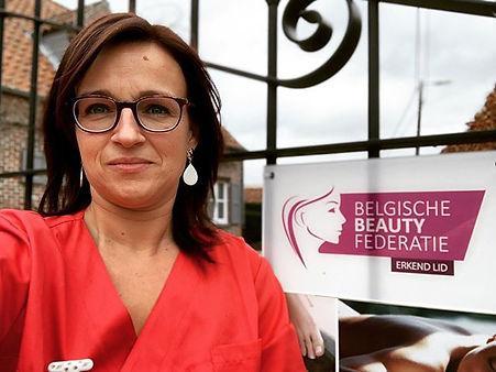 Erkend lid van de Belgische Beauty feder