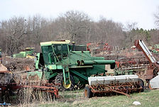 farm scrap metal clearing