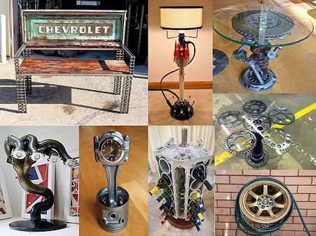 upcycling of car parts