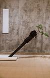 Minimalist brutalism tokonoma