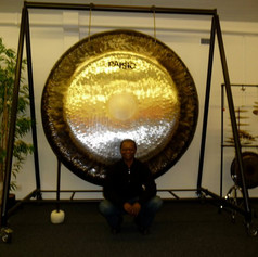 """""""The Gong"""" at Paiste in Nottwil, Switzerland"""