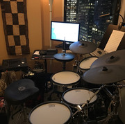 The V-Drum rig - (I will track for you!)