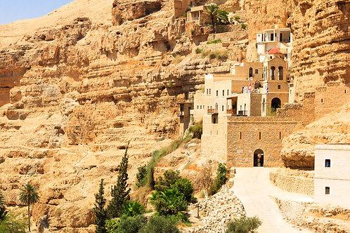 Иерихон. Вади Кельт. Монастыри Иудейской пустыни