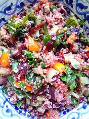 betteraves lactofermentées en salade