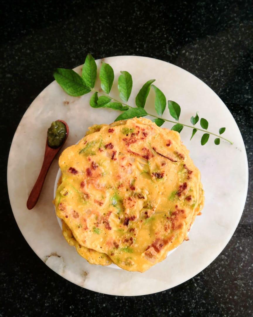 besan ka puda recipe, besan ka chilla recipe, indian savoury pancakes, gramflour pancakes, indian recipe blog whiskmixstir, traditional indian food recipes, sheetal jandial, indian breakfast ideas and recipes, under 20 minutes meals