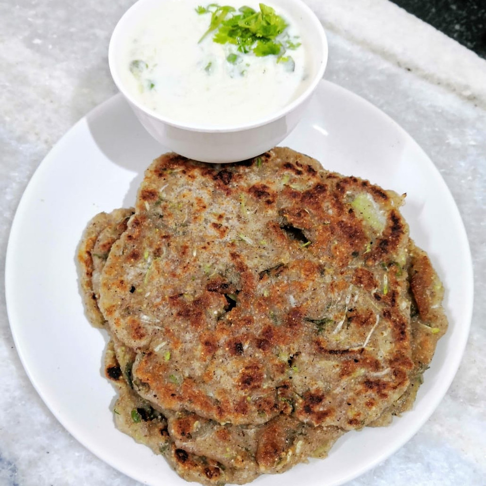 cucumber raita recipe, thalipeeth recipe, indian meal ideas and recipes, traditional indian food recipe blog whiskmixstir, rustic fasting indian food, sheetal jandial