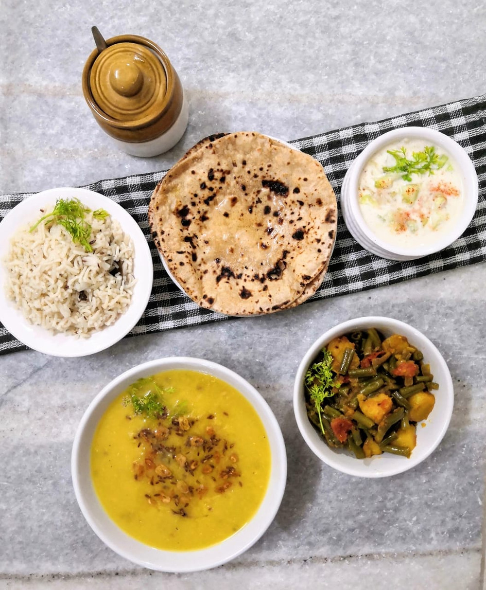 beans aloo recipe, green beans and potatoes recipes, indian masala recipe, indian meal ideas, basic moong dal tadka recipe, cucumber raita recipe, traditional indian recipes, indian food recipe blog whiskmixstir, sheetal jandial