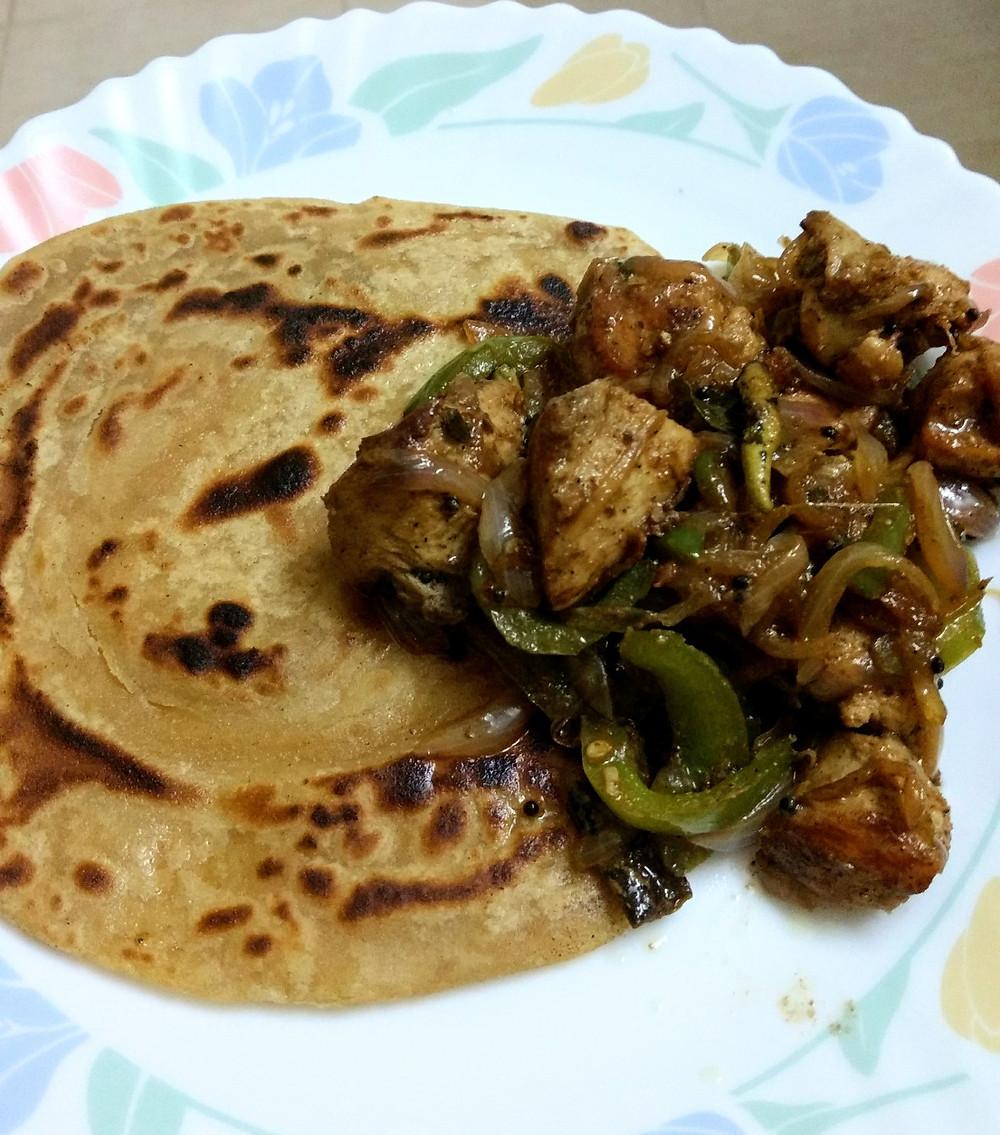 chicken stir fry recipe, stir fried chicken recipe, indian recipe blog, indian chicken recipe, whiskmixstir indian food blog, sheetal jandial