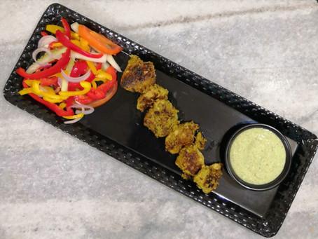 Mint Chicken Kebabs