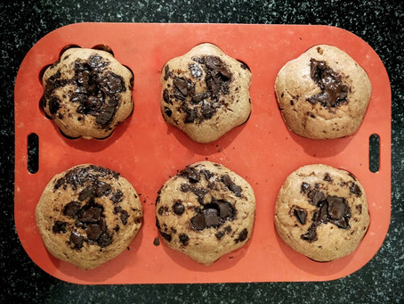 Chocolate chip / chunk muffins