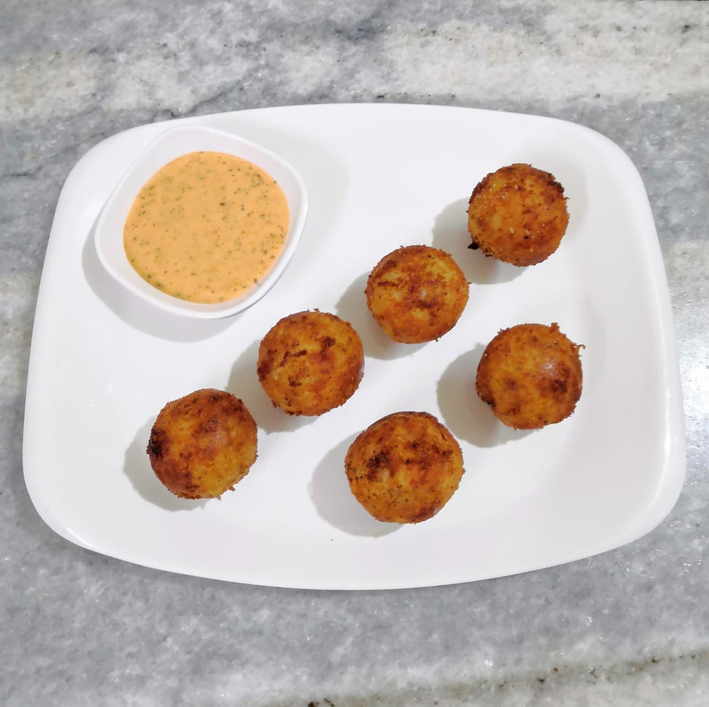 corn cheese balls recipe, corn cheese nuggets bites, thousand island dip, indian recipe blog, potato bites recipe, potato recipes, corn recipes, appetisers small plates recipe, food recipe blog whiskmixstir, sheetal jandial
