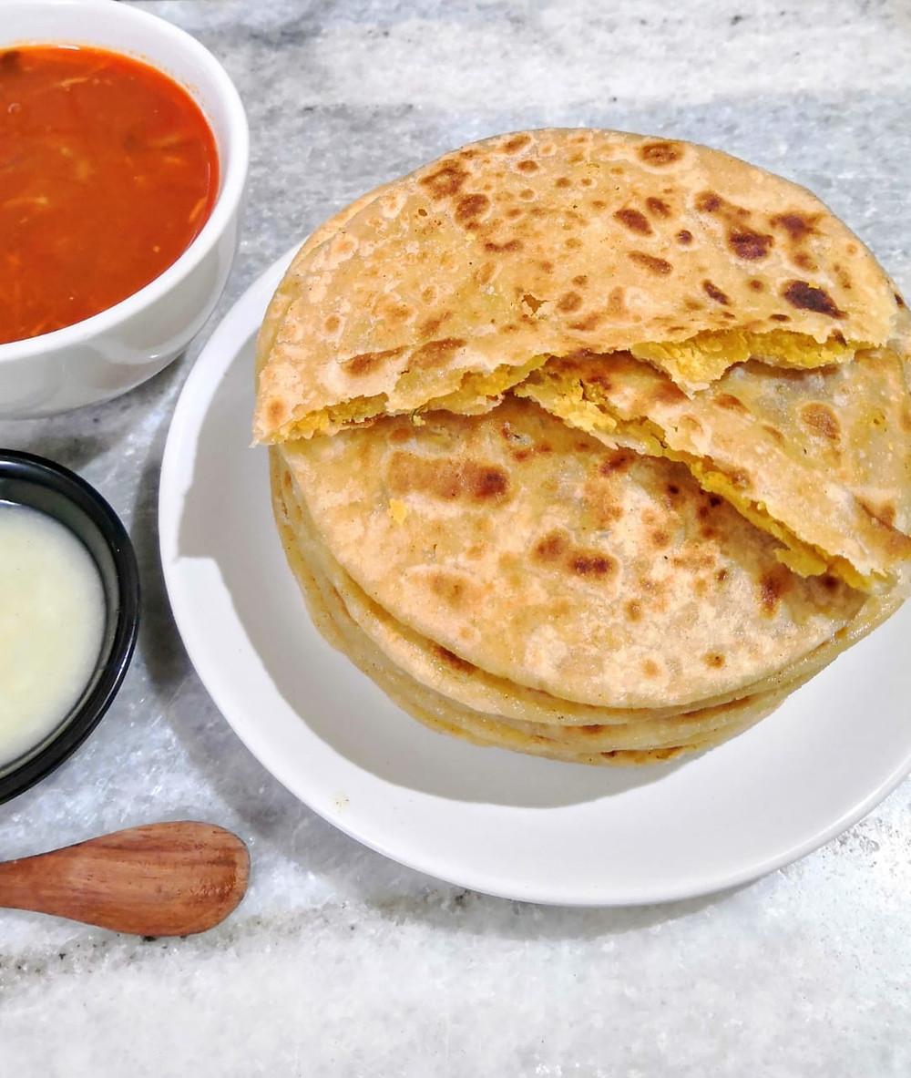 puran poli recipe, katachi amti recipe, vedmi obbattu holige recipe, indian meal ideas, traditional indian recipes blog whiskmixstir, sheetal jandial