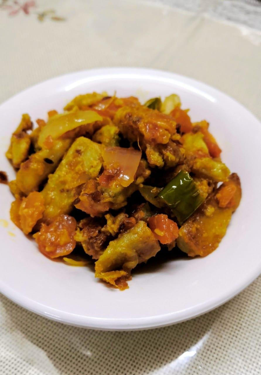 arbi masala recipe, taro root colocasia masala recipe, indian taro root recipes, indian sides recipes, traditional indian food recipe blog whiskmixstir, sheetal jandial, indian meal ideas