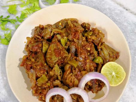 Kaleji (Mutton Liver) Fry