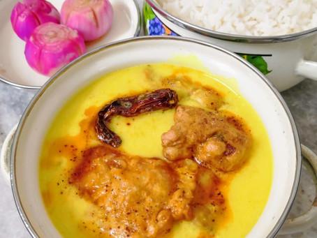 Punjabi Kadhi Pakoda