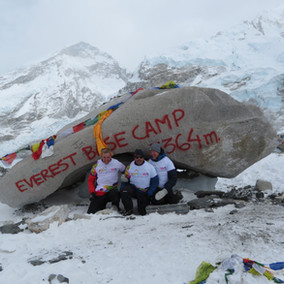 Climbing to Everest Base Camp for Ella