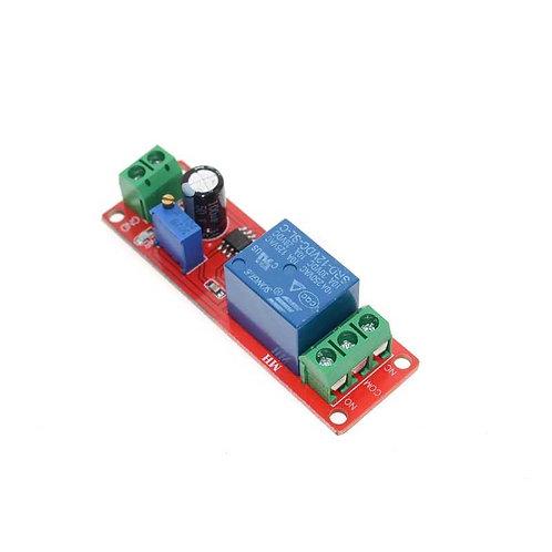 Релейный модуль с таймером задержки NE555 0-10 с