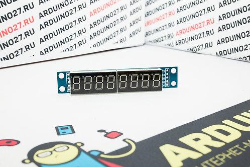 max7219 7-сегментный цифровой LED-дисплей с 8 цифрами