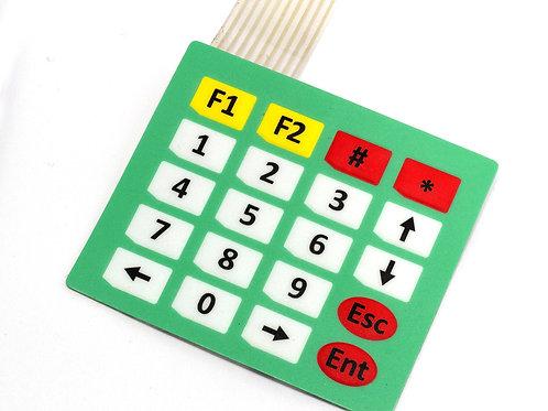 Клавиатура мембранная 4*5