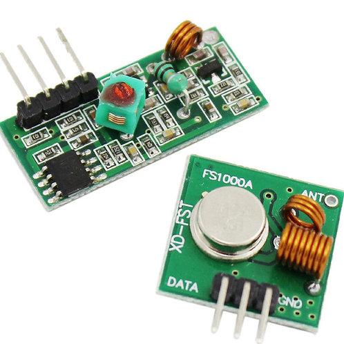 Комплект 433 мГц приемник-передатчик