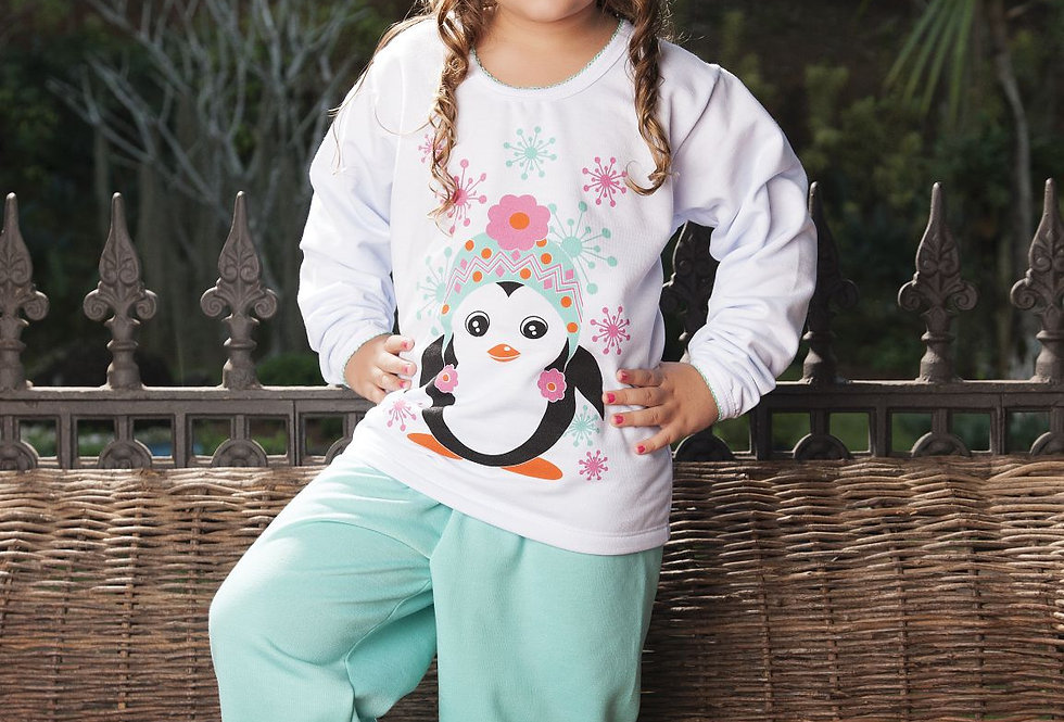 Pijama Moletim Feminino