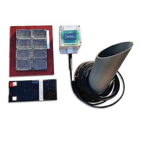 Besöksräknare, utomhusmiljö med batteridrift