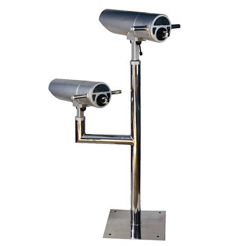Utsiktskikare, dubbel (25x, 100mm) - Extra stort ljusinsläpp