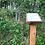 Thumbnail: Skyltställ i ek (för stående A4)