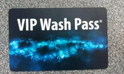 VIP Carwash Sale Cards