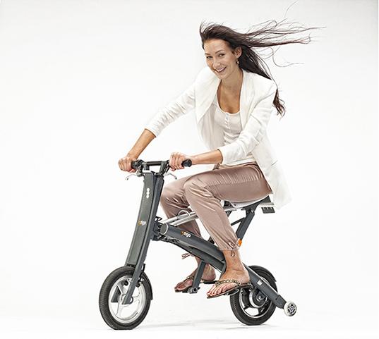 Es una bici i no pedales!.