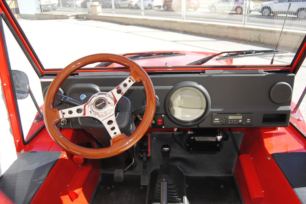 Jeep moke interior