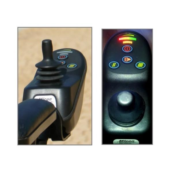 Comandament suau amb joystick.