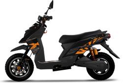 Color Negre i taronja.