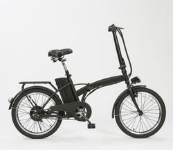 e-bike-plegable-negra