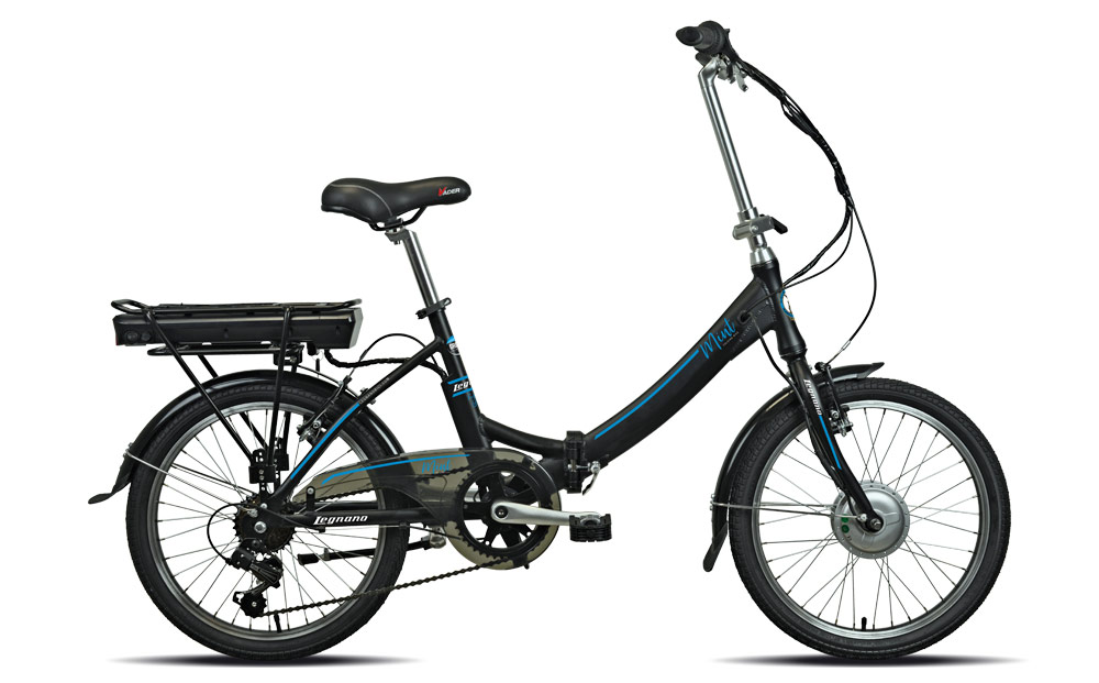 Bici electrica plegable