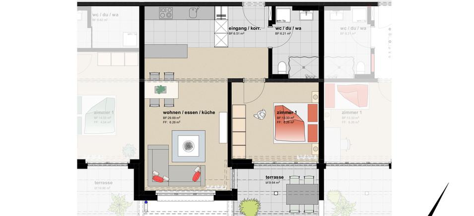 2,5 Zimmer-Wohnung