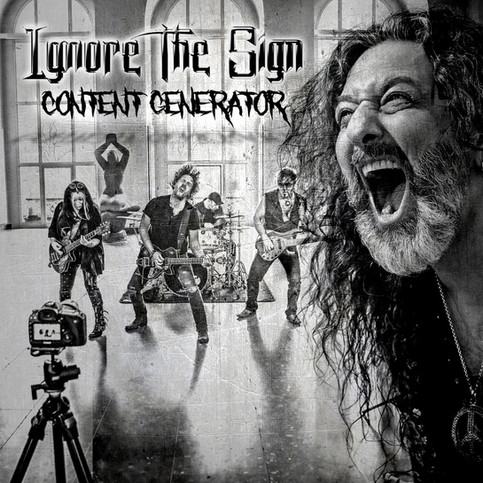 "New single ""Content Generator"" out now - with our new guitarist!!!"