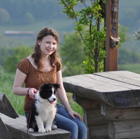 Meine Tochter mit Chicca