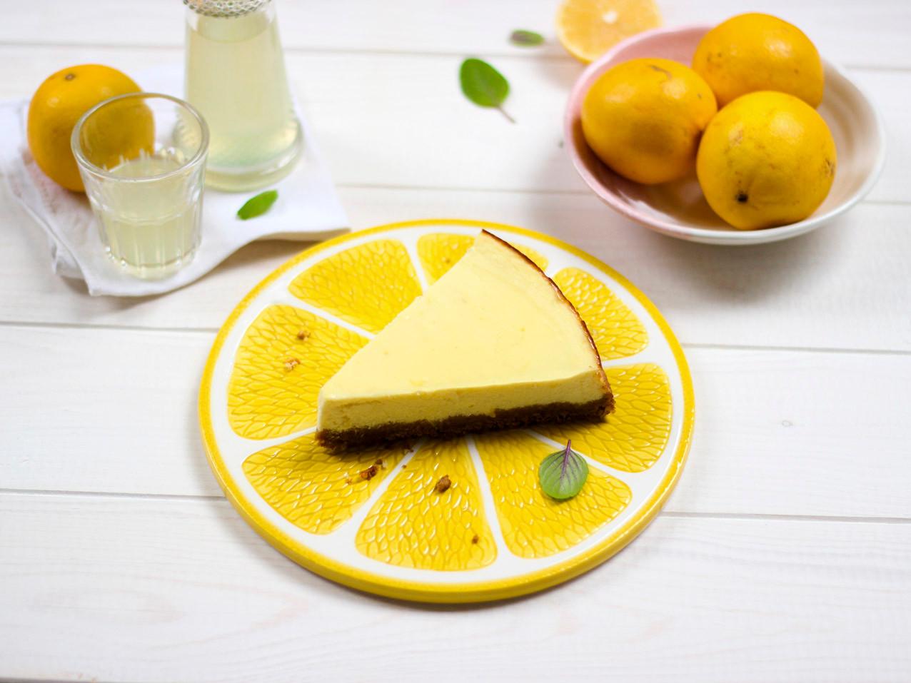 Ricotta-Cheesecake mit Zitrone & Limonce
