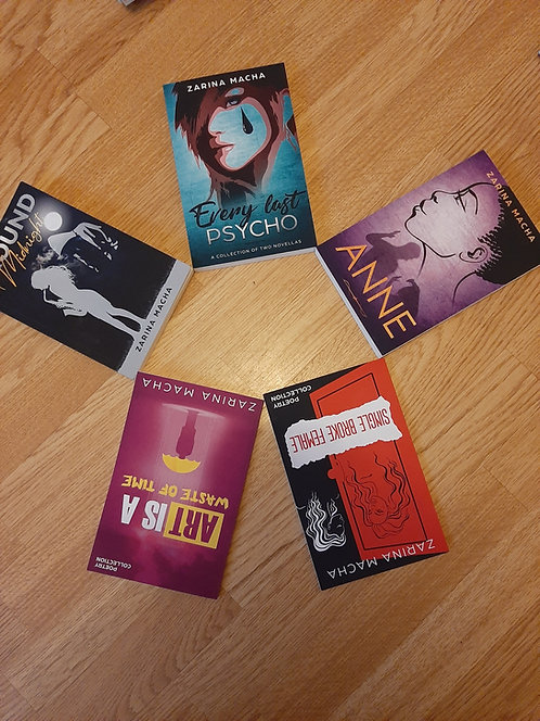 The Complete Zarina Macha Book Bundle (Paperback, Signed)
