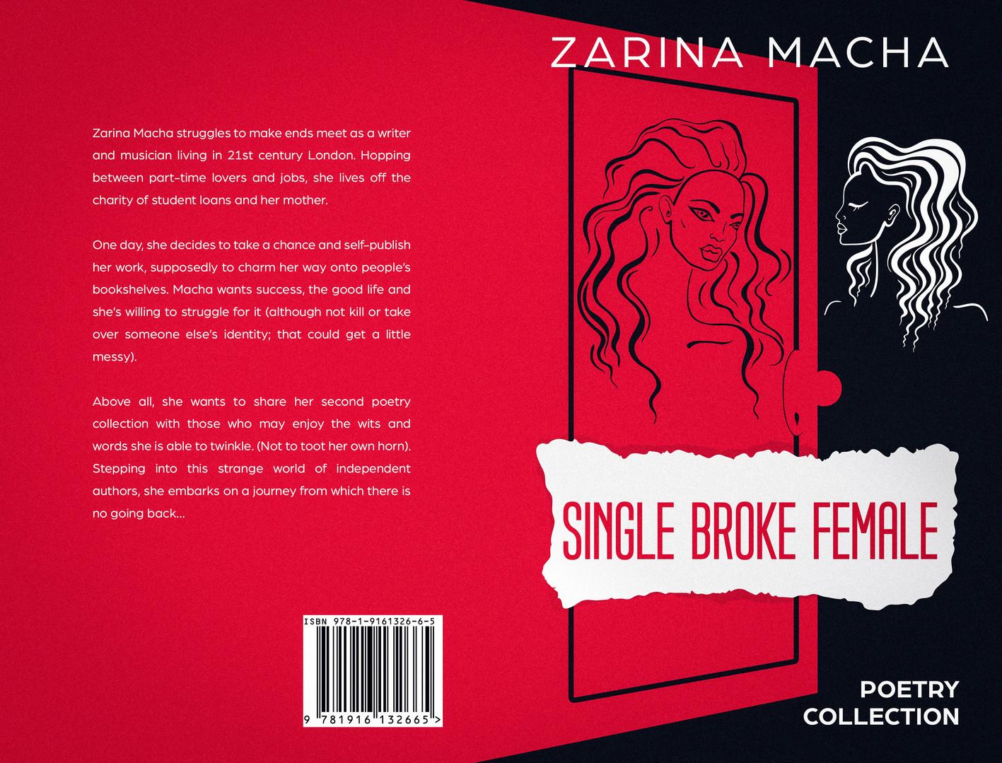 Single Broke Female Paperback Cover