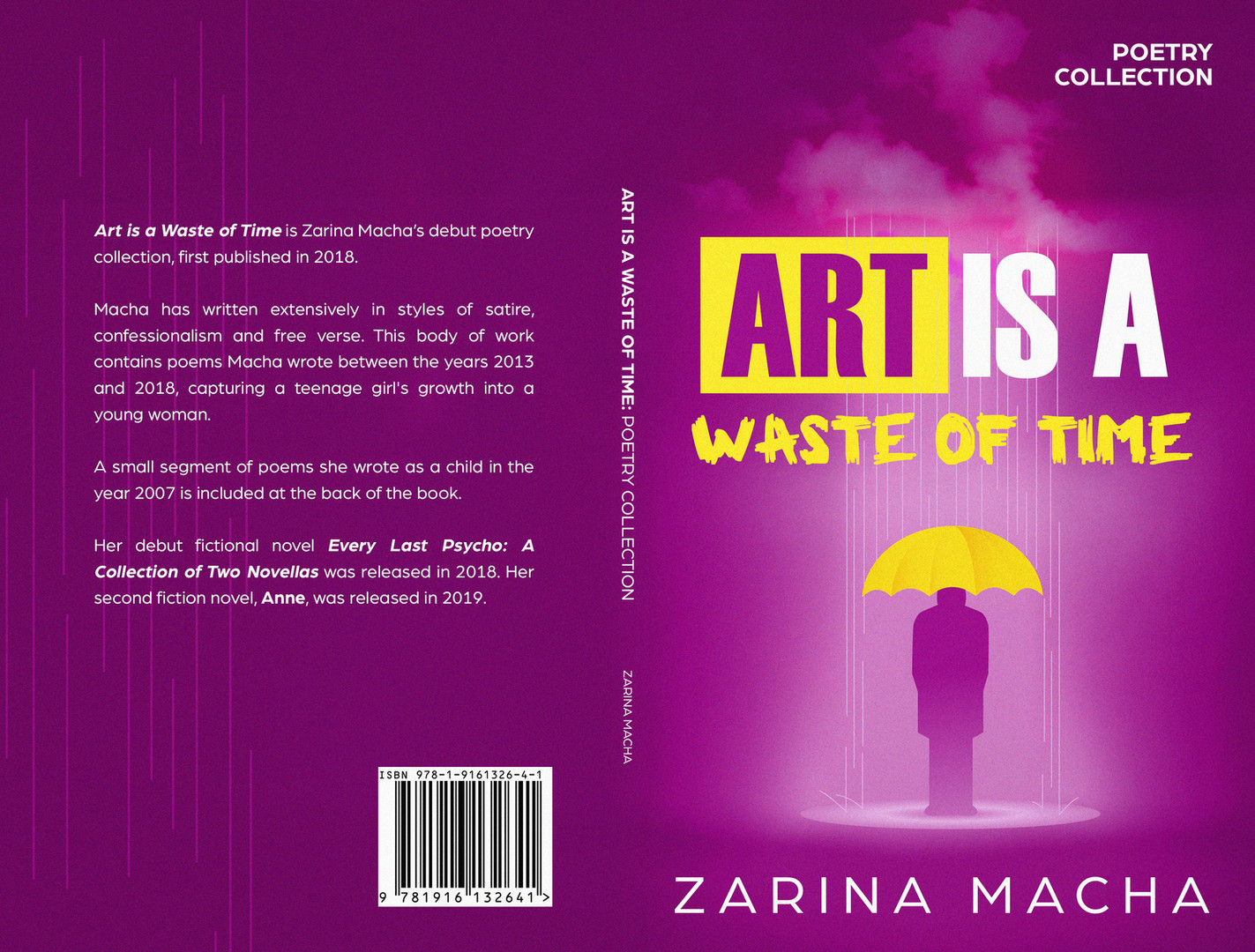 Art is a Waste of Time Paperback Cover