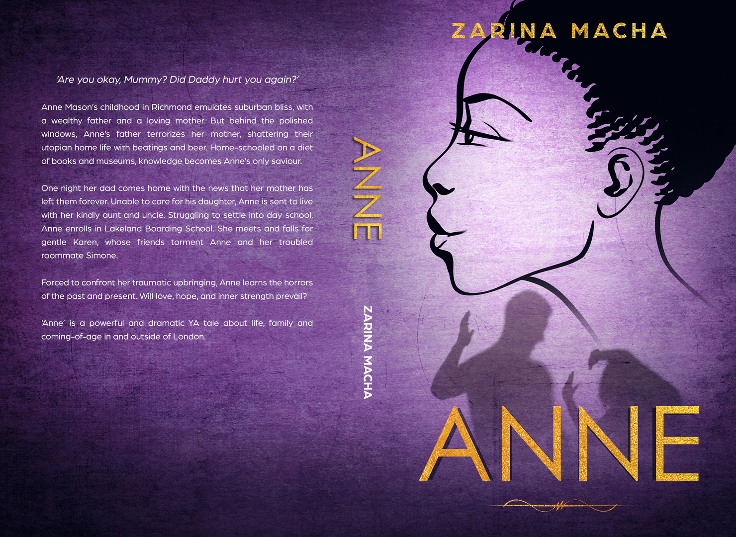 Anne Paperback Cover