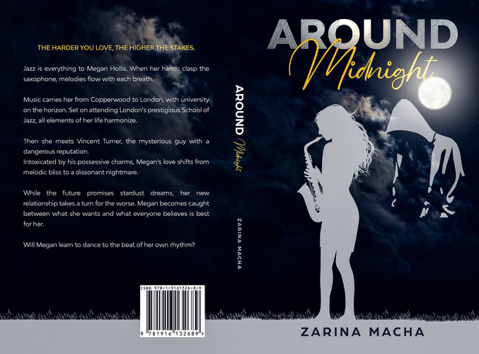 Around Midnight Paperback Cover
