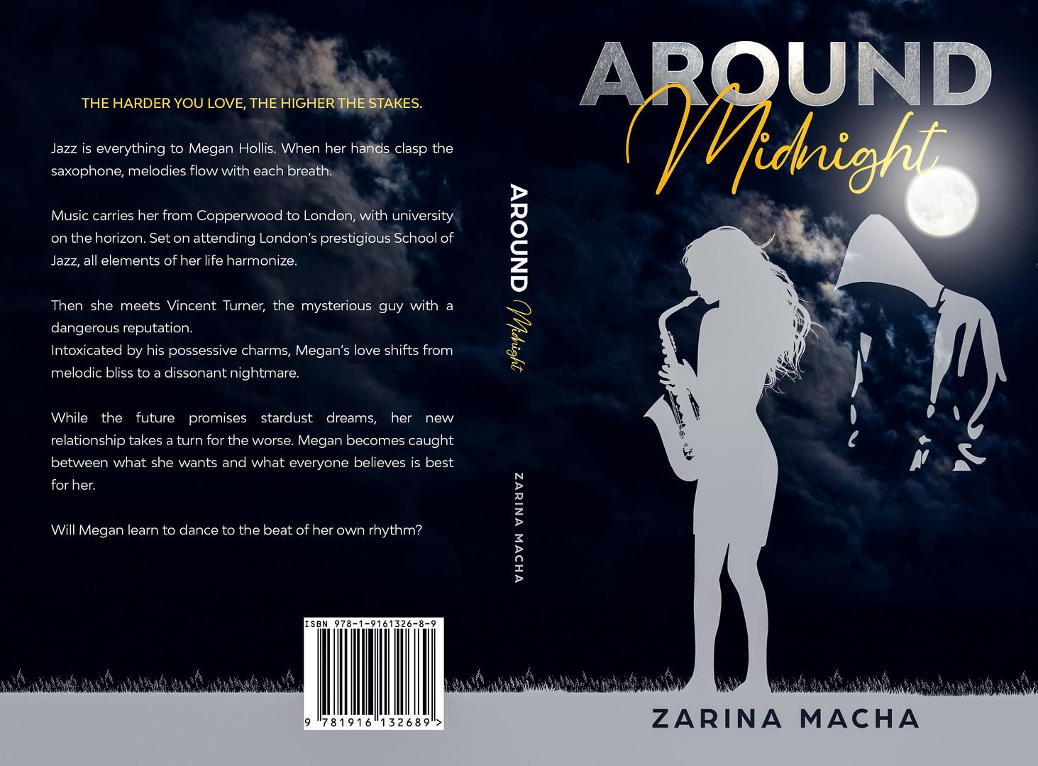 Around Midnight Paperback Cover