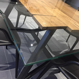 Table Verre, particulier
