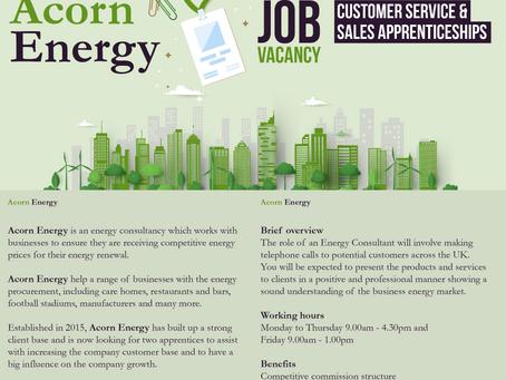 Acorn Energy Job Vacancy