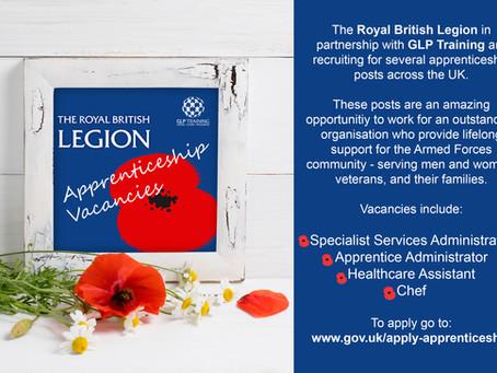 ROYAL BRITISH LEGION Apprenticeships